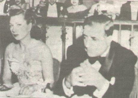 Albert Anastasia con la moglie
